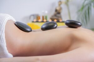 massage, massage stones, welness